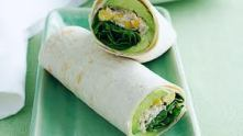 tuna and corn wraps
